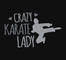 Crazy KARATE Lady by jazzydevil