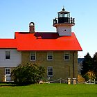 Port Washington LightHouse by Nancy (Peaches) Harker