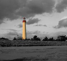 Cape May Lighthouse by BILL JOSEPH