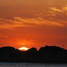 Nobby's Millennium Sunrise by Bev Woodman