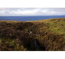 Land and Sea - A View Photographic Print