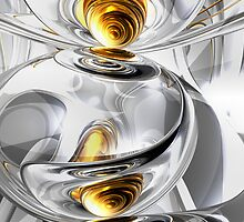 Circumvoluted Abstract by Alexander Butler