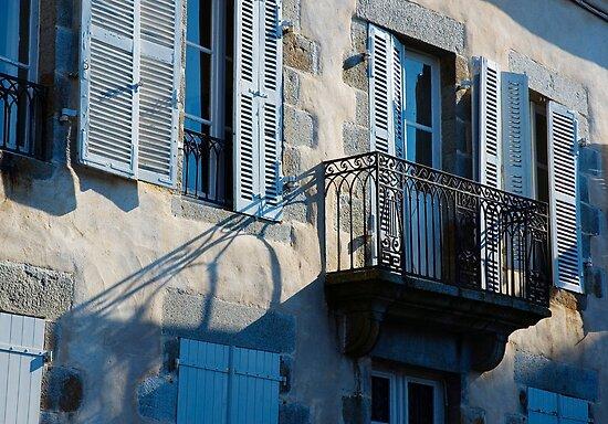 Iron Balcony by secondcherry
