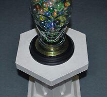 Glass Marble Head. by - nawroski -