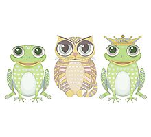 Frog Cat Prince Photographic Print