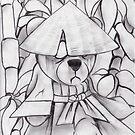 The Samurai aka. ZomBoichi by chriszenga