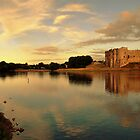 Carew Castle and Bridge by Paul Gibbons