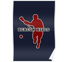 Beacon Hills High - Lacrosse Poster