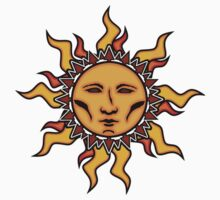 Sublime Sun Character #2 Vibrant Design by CAP by capartwork