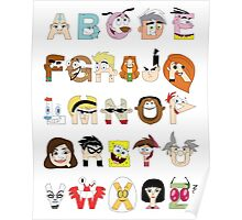 Child of the 00s Alphabet Poster