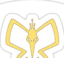 The Monarch's Laptop Skin Sticker