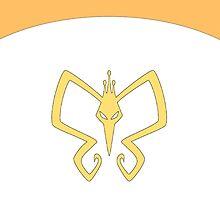 The Monarch's Laptop Skin by LordNeckbeard