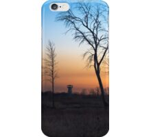 Sunset at the Tower Preserve iPhone Case/Skin