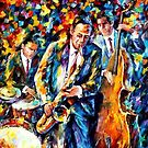 The Lovely Trio — Buy Now Link - www.etsy.com/listing/225502780 by Leonid  Afremov