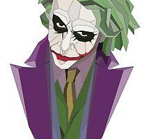 Geometric Joker Transparent by gaumerdesign