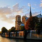 Notre Dame, Paris by Alan McMorris