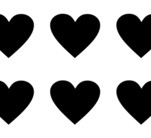 odd heart out Sticker