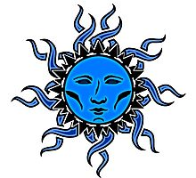 Sublime Moon Character #2 Vibrant Design by CAP Photographic Print