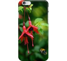 Wild Fuchsia at Loch Na Fooey (tall) iPhone Case/Skin