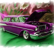 57' Chevy Nomad by ezcat