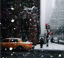 New York Snow by dmwfoto