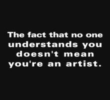 No Artist... by xTRIGx