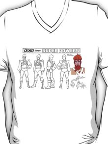 Firestorm Super Powers Model Sheets T-Shirt