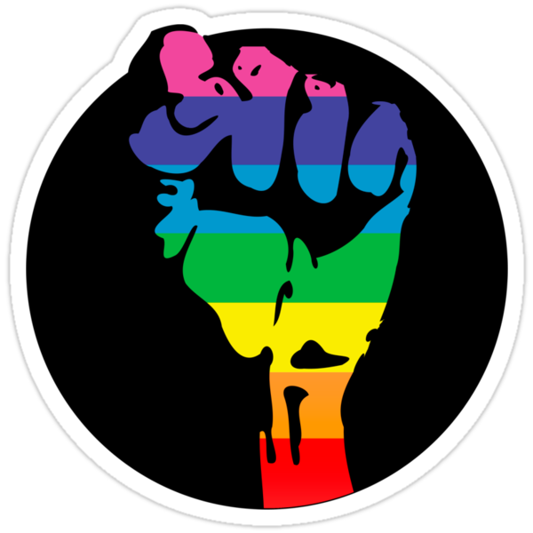 pride fist by chromatosis