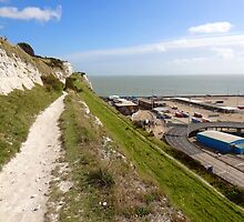 """UK: """"White Cliffs Pathway"""", Kent by Kelly Sutherland"""