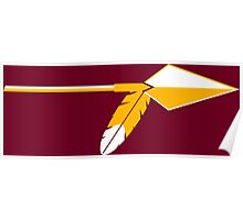 Central Michigan Chippewas Indian Spear (1973 - 1988) Poster