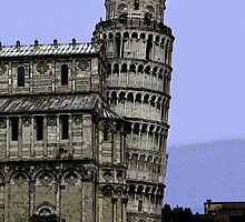 """""""LEANING TOWARDS A SLIGHTLY DIFFERENT SLANT ON PISA"""" by Edward J. Laquale"""
