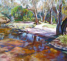 Creek Crossing by Lynda Robinson