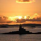 Norwegian Sunset by Jenny Brice