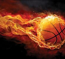 Fiery Basketball by Gotcha29