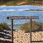 """chinamans beach"" by Cynthia Fletcher"