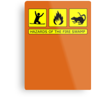 Hazards of The Fire Swamp Metal Print