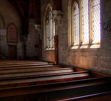 Take A Pew by Martin Hampson