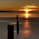 Sunset on Ice by Minne