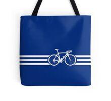 Bike Stripes White x 3 Tote Bag