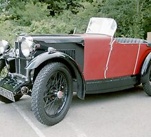 1920's MG Sports Car. by Edward Denyer