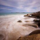 Port Elliot, misty waters by Michael Buddle