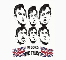 Gordon Brown T-Shirt by simpsonvisuals