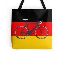 Bike Flag Germany (Big - Highlight) Tote Bag