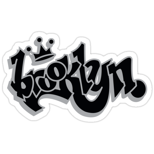BROOKLYN GRAFF STYLE*BLACK/SILVER by 4playbk