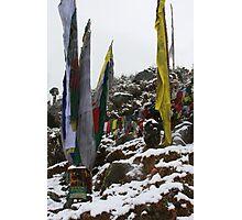 winter. indian himalaya Photographic Print
