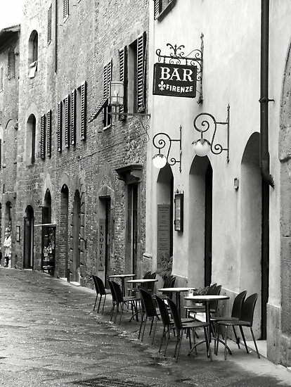 Bar Firenze by Linda Curty