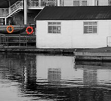Boat House at Millwall Docks SC by Dave Law