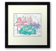 Fear & Loathing Framed Print
