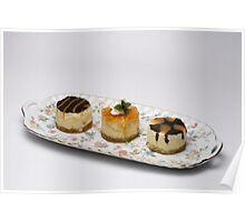 Single Serving Cheese Cakes Poster