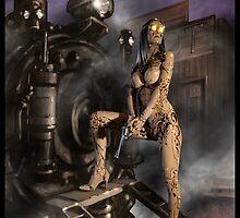Steampunk Painting 007 by Ian Sokoliwski